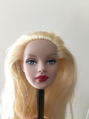 Tonner Tiny Kitty Collier Doll Head Only - Long Blonde Hair Great for OOAK