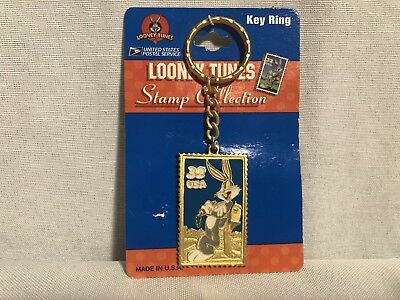 Looney Tunes Bugs Bunny Stamp Collection Key Ring