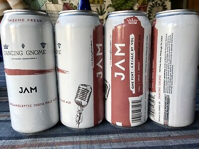 """""""Empty"""" Dancing Gnome Citra Jam 4-Pack Other Half Tired Hands Trillium Monkish"""
