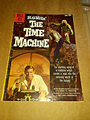 HG WELLS - THE TIME MACHINE  - DELL MOVIE CLASSIC - 1960 Comic # 1085 BEAUTIFUL