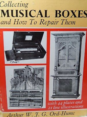 Collecting Musical Boxes & How to Repair Them With 44 plates & 21 Illustrations