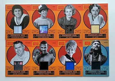 2014 Panini Golden Age Museum Age Lot of 9 Chaney Jr. Wray Spinks Dickinson