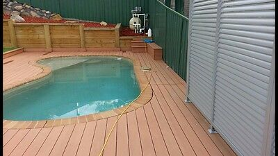 Composite Decking, Eco Deck 140x19 In 5.4m Lengths Wood/plastic