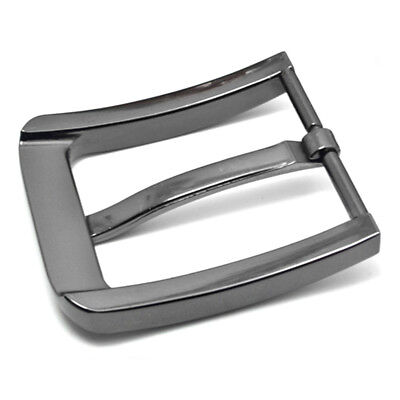 Stainless Steel Fashion 35/40mm Men Pin Belt Buckle Leather Snap On Replacement