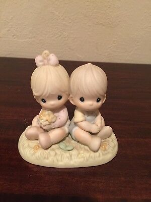 Ernesco Precious Moments Love One Another 1996 Figurine