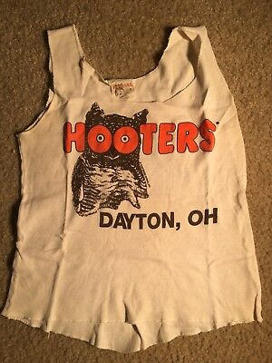 Authentic old school Small Shirt Hooters Uniform shirt.