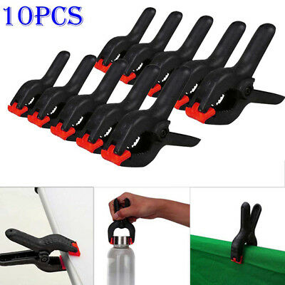 "10Pcs 2"" Backdrop Clamps Clips Photography Photo Studio Background Stand Light"