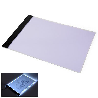 A4 USB LED Artist Thin Art Stencil Board Light Tracing Drawing Pad Table Box AH2