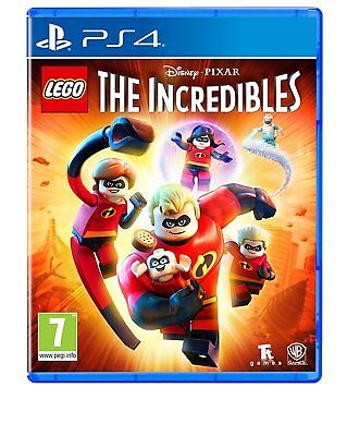 LEGO The Incredibles (PS4) BRAND NEW SEALED PLAYSTATION 4