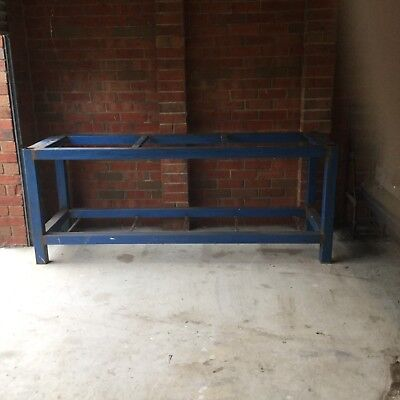 Super Heavy Duty Fully Welded 75mm Square Tube  Steel Work Bench Frame