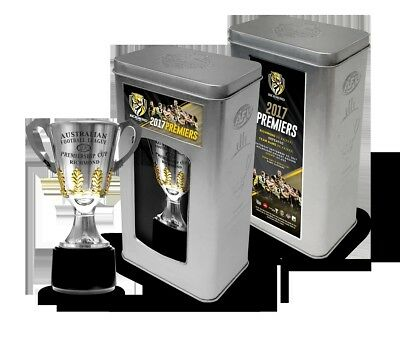 Official 2017 AFL Premiers Cup In Collectors Tin - Richmond Tigers In Stock Now