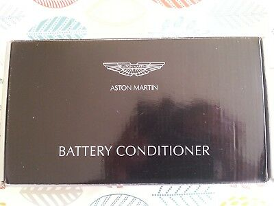 Aston Martin Genuine Battery Conditioner Trickle Charger CTEK Boxed Instructions