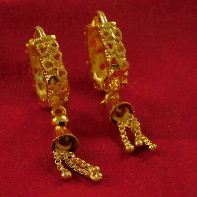 18 K Goldplated Desinger Earrings Indian Bollywood Partly Women Fashion Jewelry For Fast Shipping Bridal & Wedding Party Jewelry