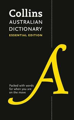 Collins Australian Dictionary: Essential Edition Paperback