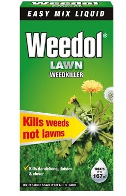 Weedol Lawn Weedkiller Concentrate  - 1 Litre