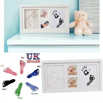 Baby Hand and Foot Print Kit 3D Photo Frame Newborn Unique Keepsake Shower Gifts
