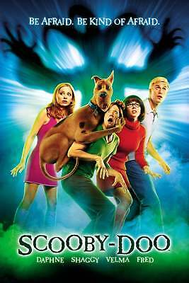 """""""Scooby Doo; The Movie"""".. .. Classic Animated 2002 Movie Poster Various Sizes"""
