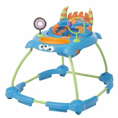 Cosco Simple Steps Walker Monster Syd Blue Infant Baby Activity Toy Washable New