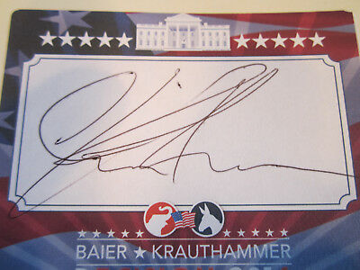 Signed - Charles Krauthammer Things That Matter - Brand New - Compare!