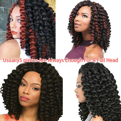 20Pcs/Set Strong Curly Deep Twist Best Synthetic Crochet Micro Braids Wigs A88D