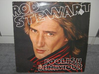 "LP Rod Stewart ""Foolish Behaviour"" (Warner Bros. Records), Rock der 70er!"