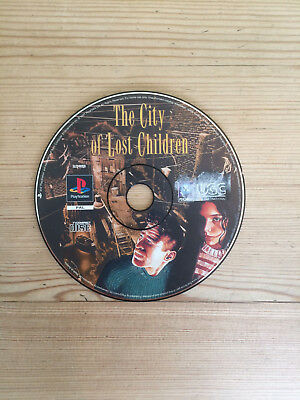 The City of Lost Children for PS1 *Disc Only*
