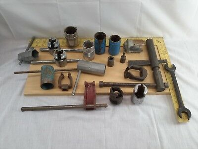 19 Pc. Collection Fire Sprinkler Sockets & Wrench Specialty Tools Central