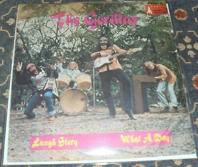 "The Gorillas (The Rattles) : Laugh Story,Racket :,7"",im Bildcover"