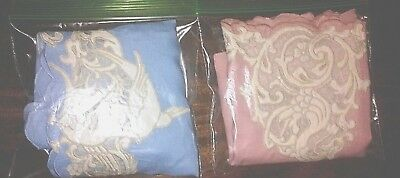 Antique Linen embroidered hand towels