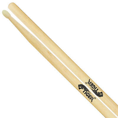 Tiger Maple Drumsticks with Nylon Tips