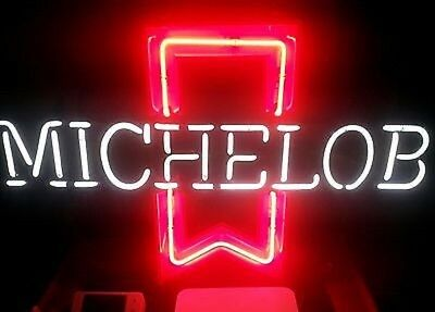 Vintage beer michelob neon sign bar classic advertising pick up Ohio nice glows
