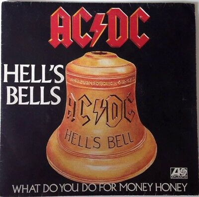 AC/DC - Original Single-Hells Bells - What Do You Do For Money Honey -RAR!