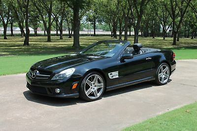 Mercedes-Benz SL63 SL63 AMG Convertible MSRP New $143845 Perfect Carfax P01 Pkg Pano Roof Distronic Parktronic MSRP New $143845