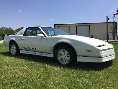 1984 Pontiac Trans Am Anniversary Edition Ricaro 1984 15 Year Anniverary Edition Pontiac Trans Am Recaro Package