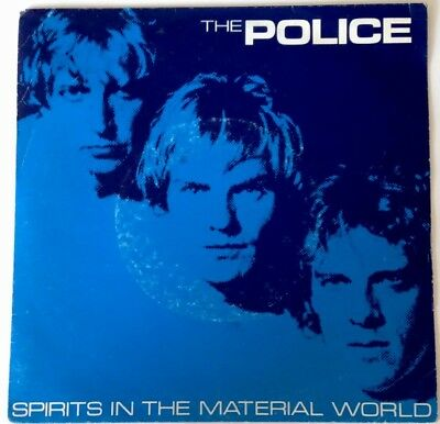 "THE POLICE -Spirits In The Material World- 7"" 45 ,Neu! Ungespielt!"