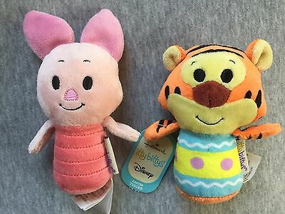 Hallmark Itty Bittys Easter Set Tigger Piglet Winnie The Pooh Plush Lot Toy