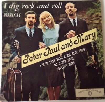 PAUL PETER and MARY - EP Warner WEP 1455, France 1967, 4 Songs!