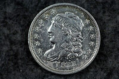 Estate Find 1833 - Liberty Capped Bust Half Dime!!! #H3450