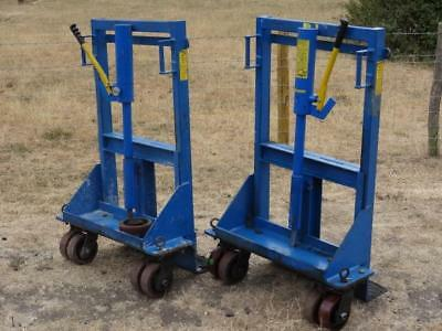 Skoots SK5000 5000kg Hydraulic Machine Mover System Moving Trolleys