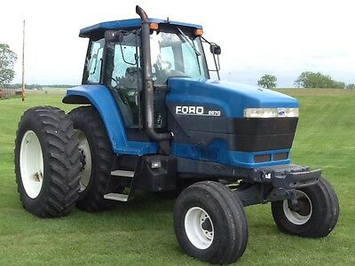Ford New Holland 8670 farm tractor