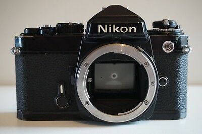Nikon Fe Slr Camera Body - Some Issues But Works Fine