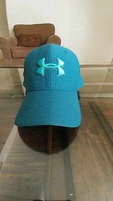 Under Armour Hat Youth Fitted Cap Green Size S/M