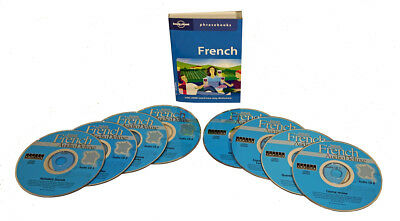 Learn to Speak French Language (8 Audio CD Set w/Phrasebook) listen in your car