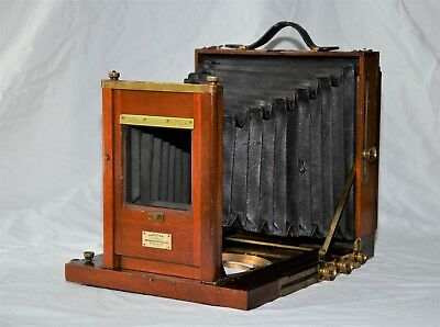 Carlton - Rochester Optical Co. 8 1/2 x 6 1/2 inch Full Plate View Camera 1890