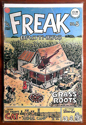 The Fabulous Furry Freak Brothers #5 F+ 6.5