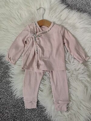 Baby Girls Burberry Top And Trousers 0-6months