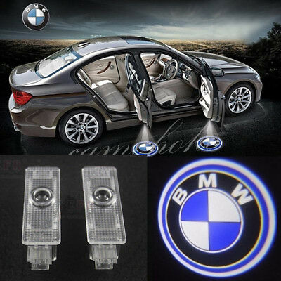 2x Door Ghost Shadow Logo Projector LED Lights For BMW 3 5 6 7 Series X3 X5 X6