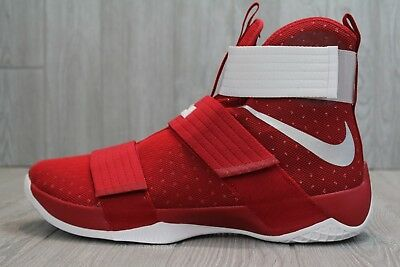 size 40 0e505 eb32d 36 NIKE LEBRON Soldier 10 Tb Promo Gym Red White Shoes 13, 14, 15.5  856489-661