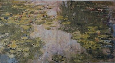 Large Wall Tapestry - Water lilies [Monet] - 105 x 202cm approx size