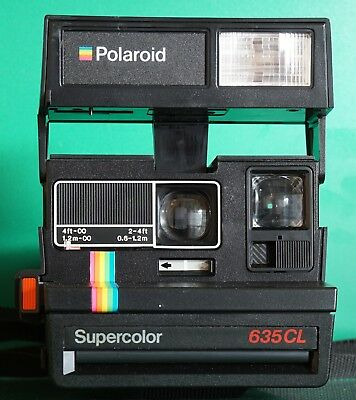 Polaroid Supercolor 635CL Sofortbildkamera r226